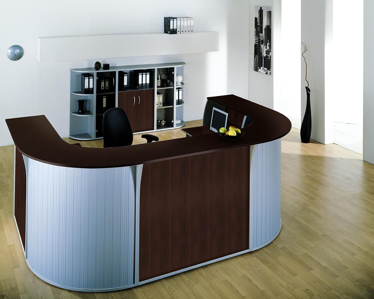 Ресепшн столы фото
